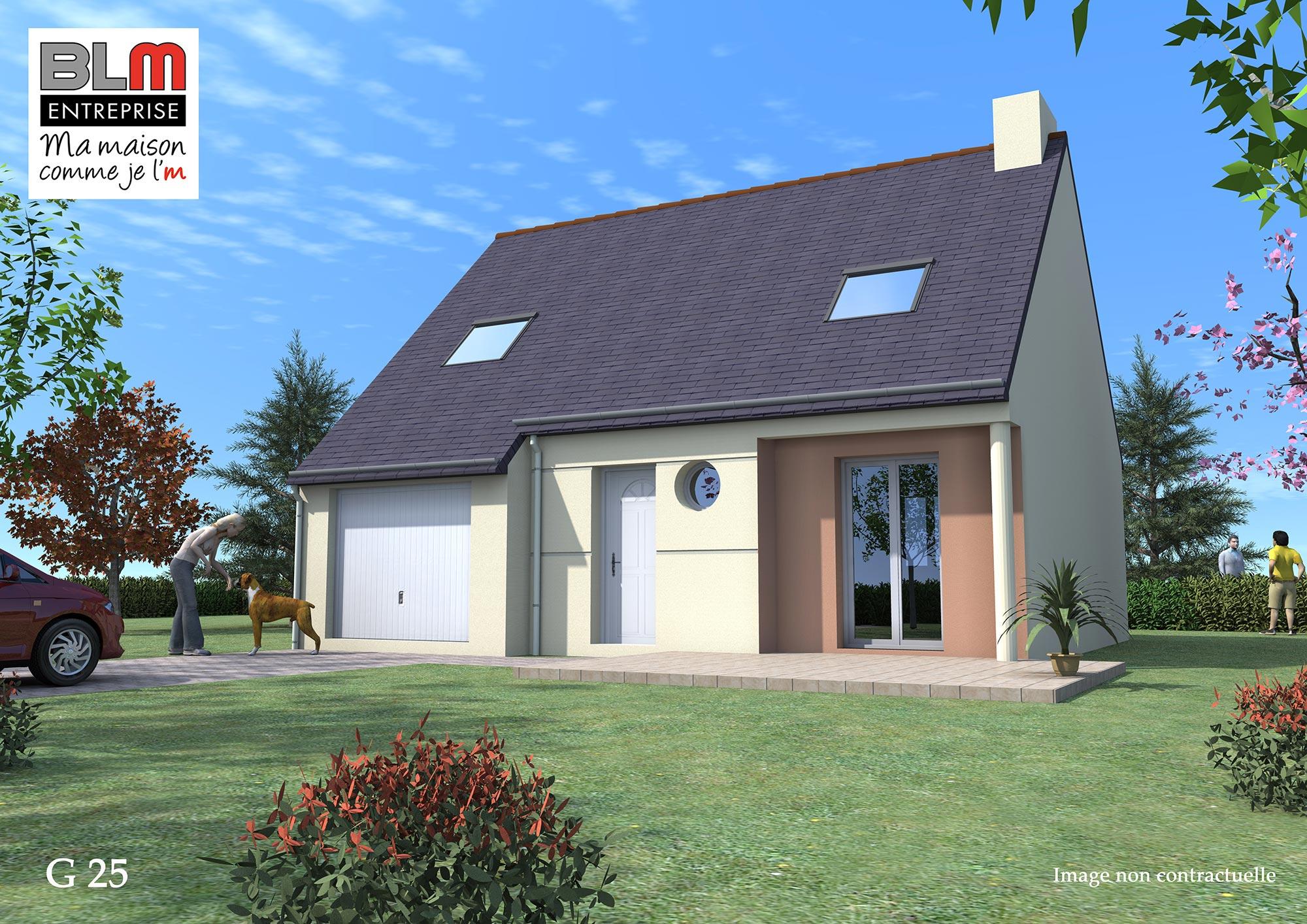 Maison neuve terrain maison neuve p construire modle for Prix des maisons a construire