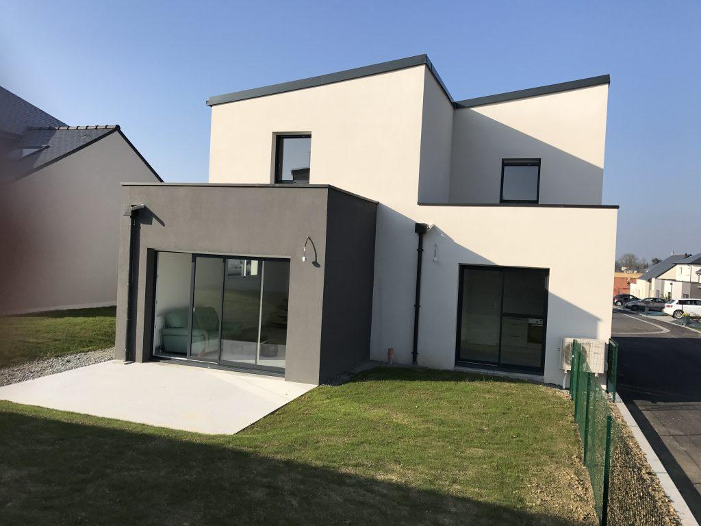 Sens de bretagne maison neuve terrain de 497 m2 blm 35 for Constructeur maison montauban