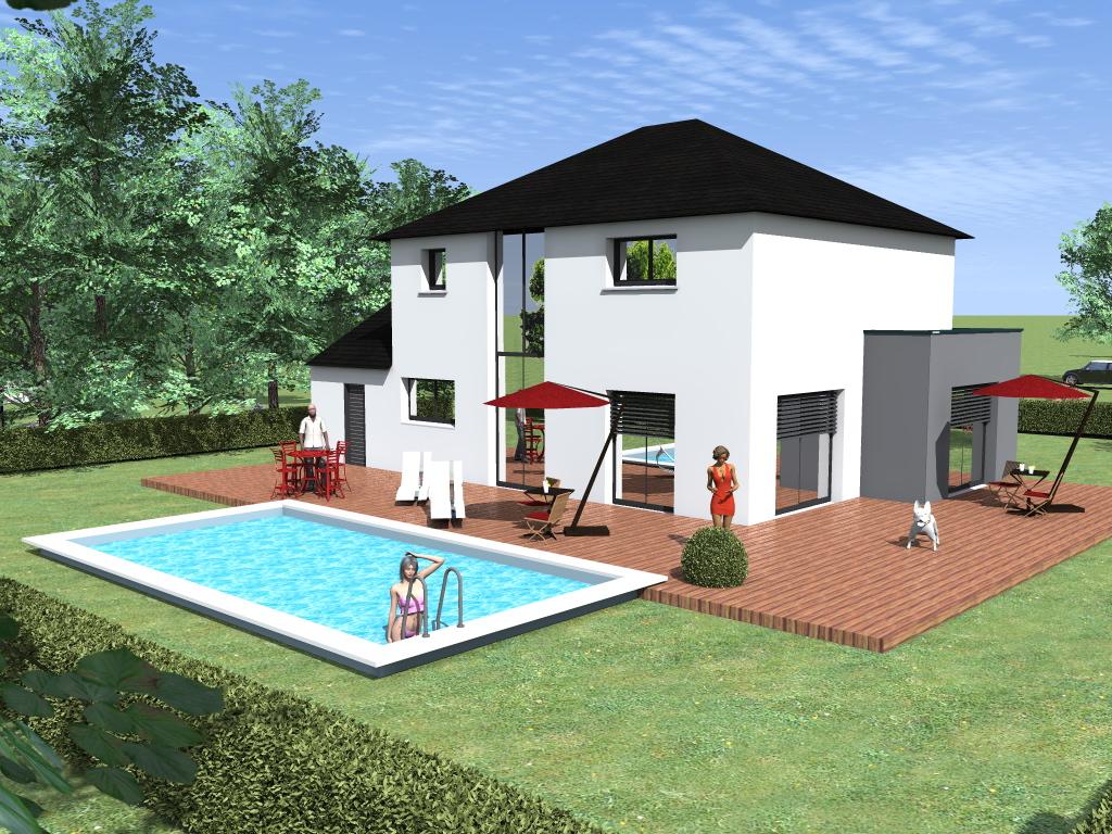 Mod le sur mesure saint malo blm 35 for Constructeur de maison individuelle saint malo