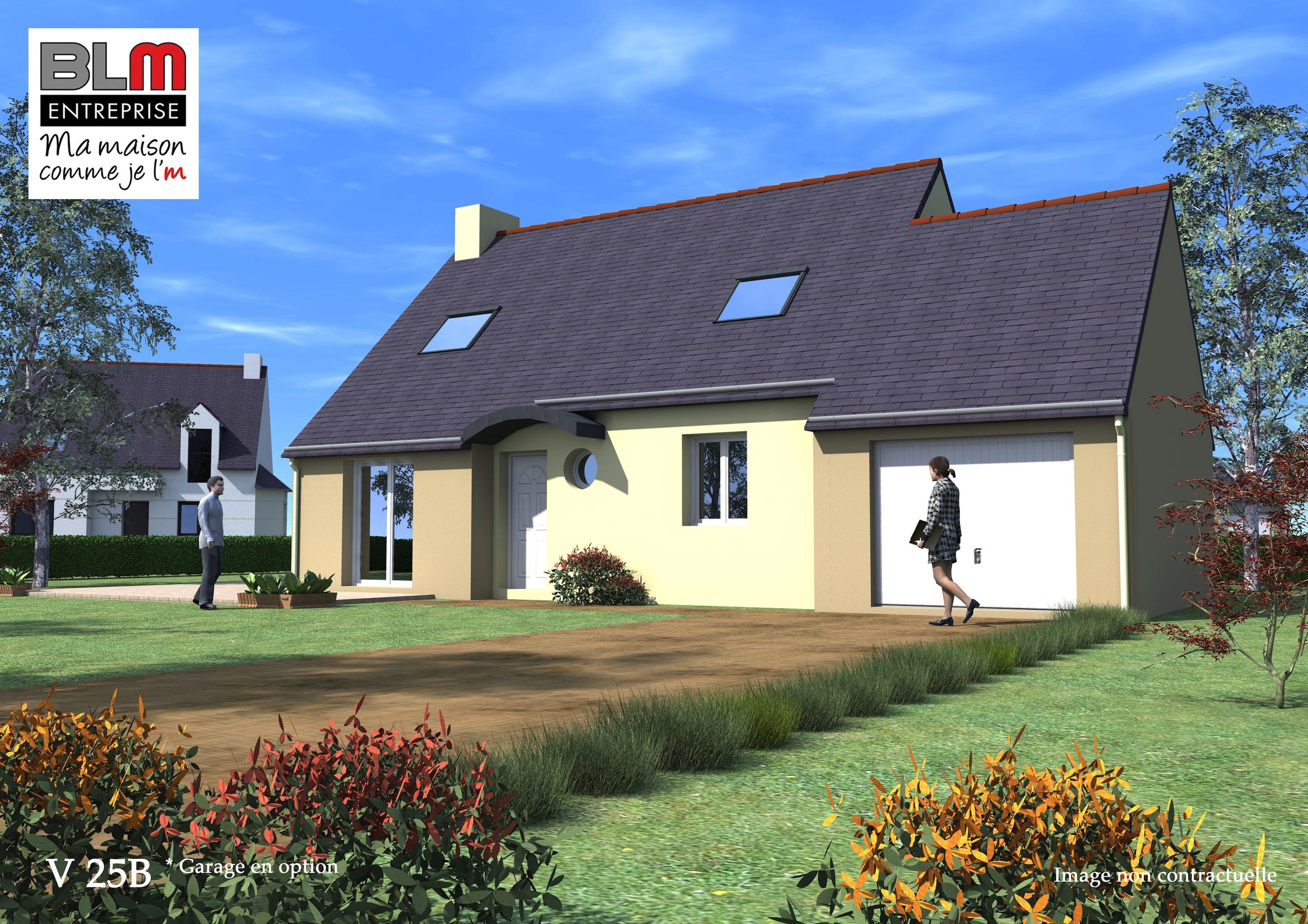 Combourg maison neuve terrain de 350 m2 blm 35 for Maison neuve plus terrain