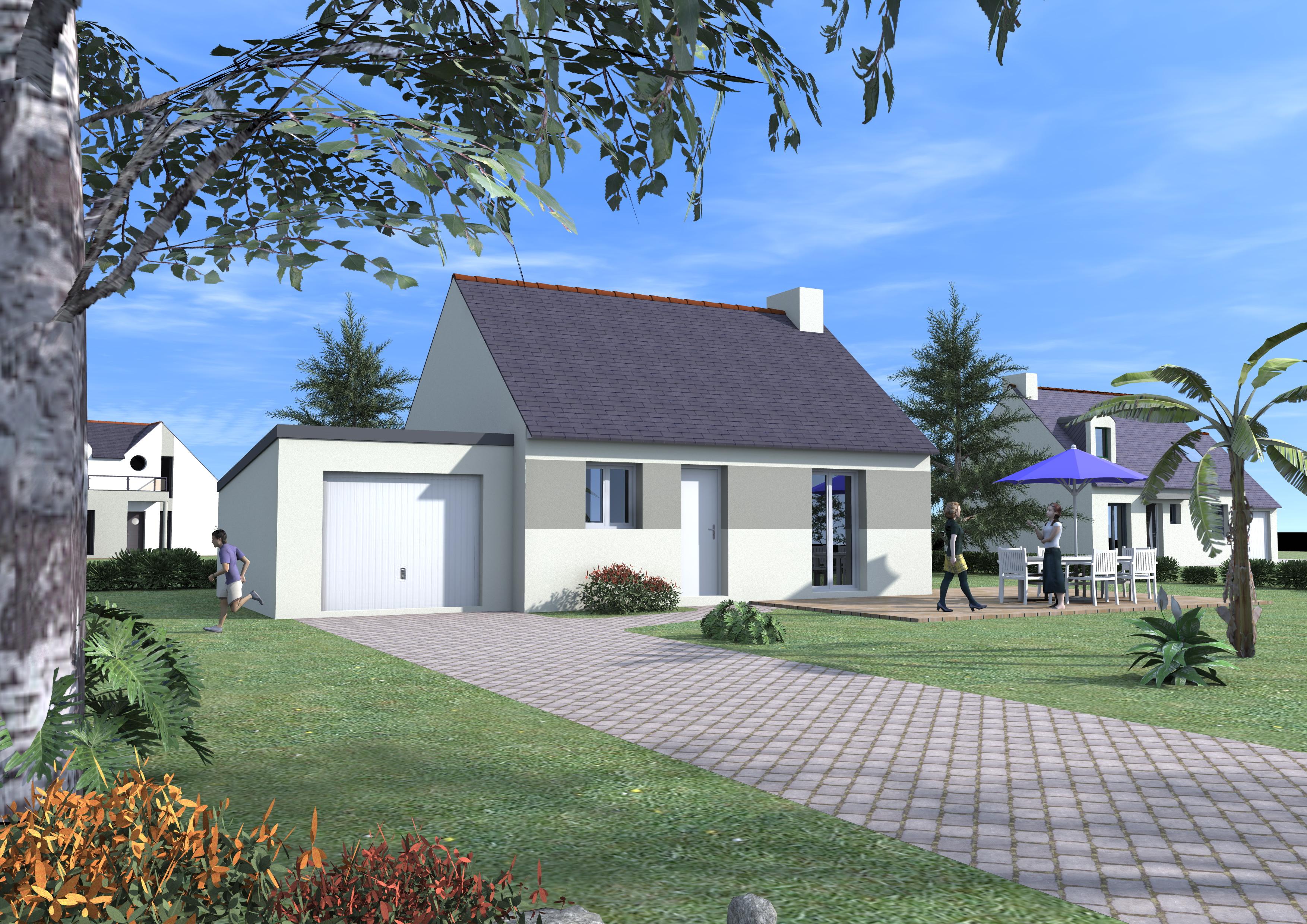 Sens de bretagne maison neuve terrain de 476 m2 blm 35 for Personnaliser votre propre maison