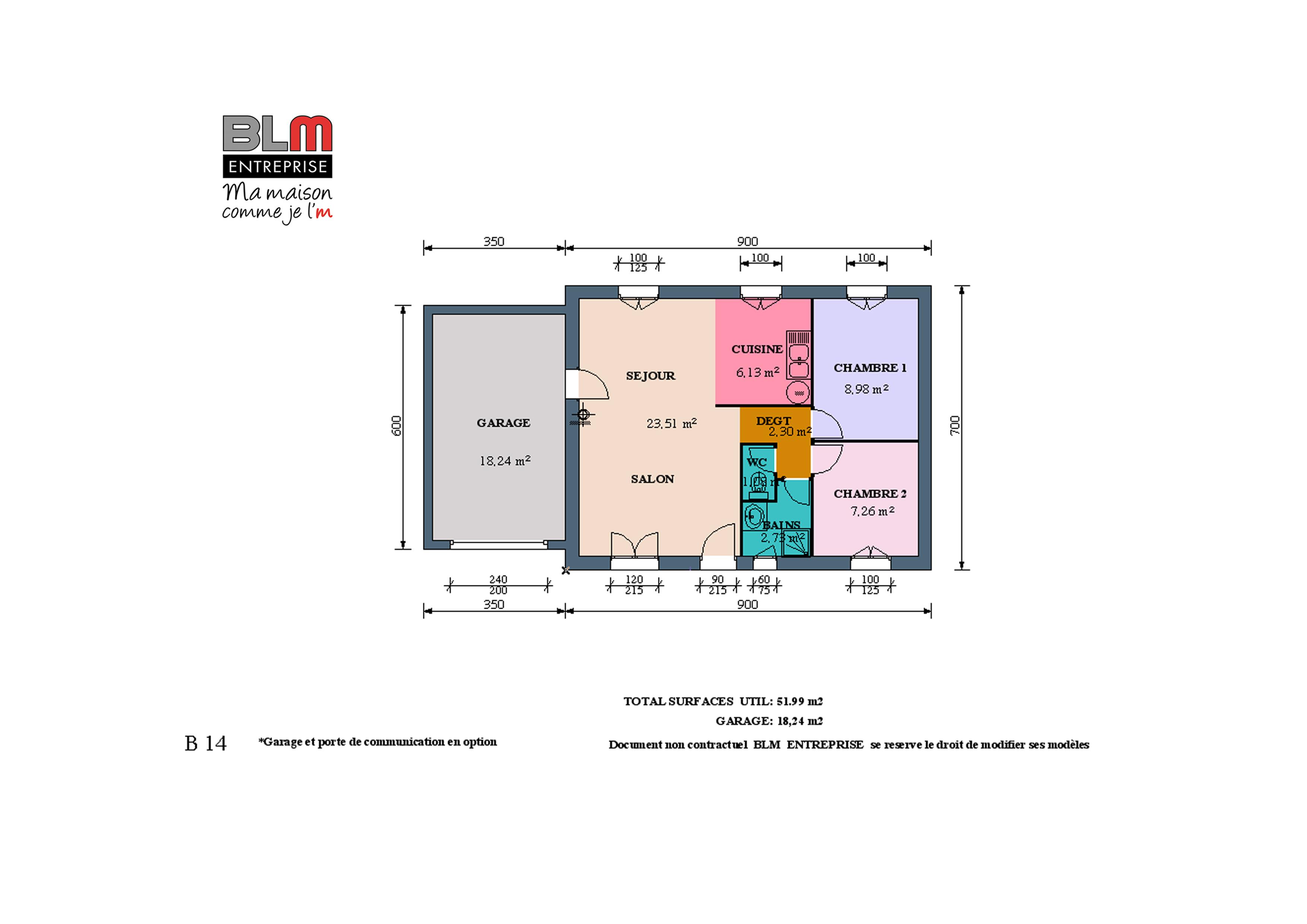 Construction maison neuve terrain de 368 m2 servon sur for Maison neuve plus terrain