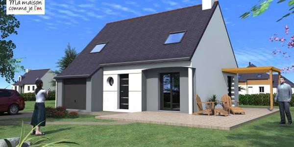 Maison neuve terrain cool terrain vendre montral le de for Achat maison neuve 26