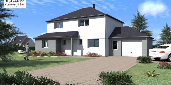 Maison neuve terrain cool terrain vendre montral le de for Prix maison neuve avec terrain