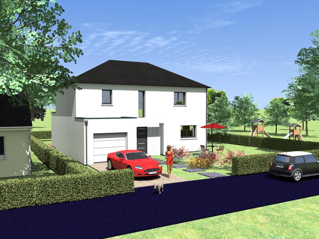 Combourg maison neuve terrain de 387 m2 blm 35 for Terrain et maison neuve
