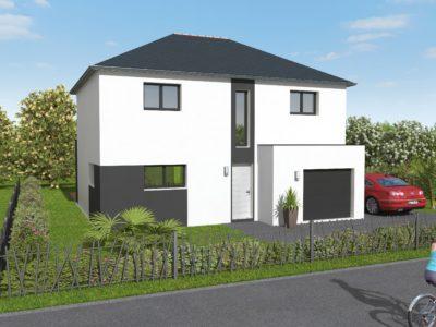 Construction De Maisons A Etage En Bretagne